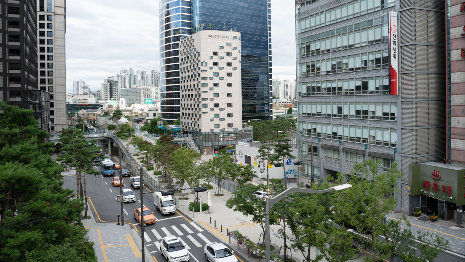 maak.space inrichting buitenruimte Seoul