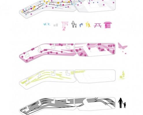buitenruimte nieuwbouw daktuinen UNStudio en MAAKspace