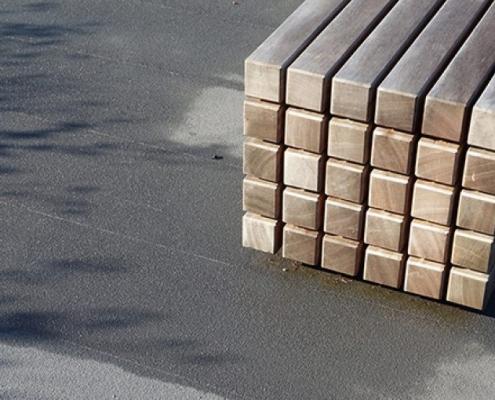 uitvoeringsgereed ontwerp buiten meubilair MAAKspace